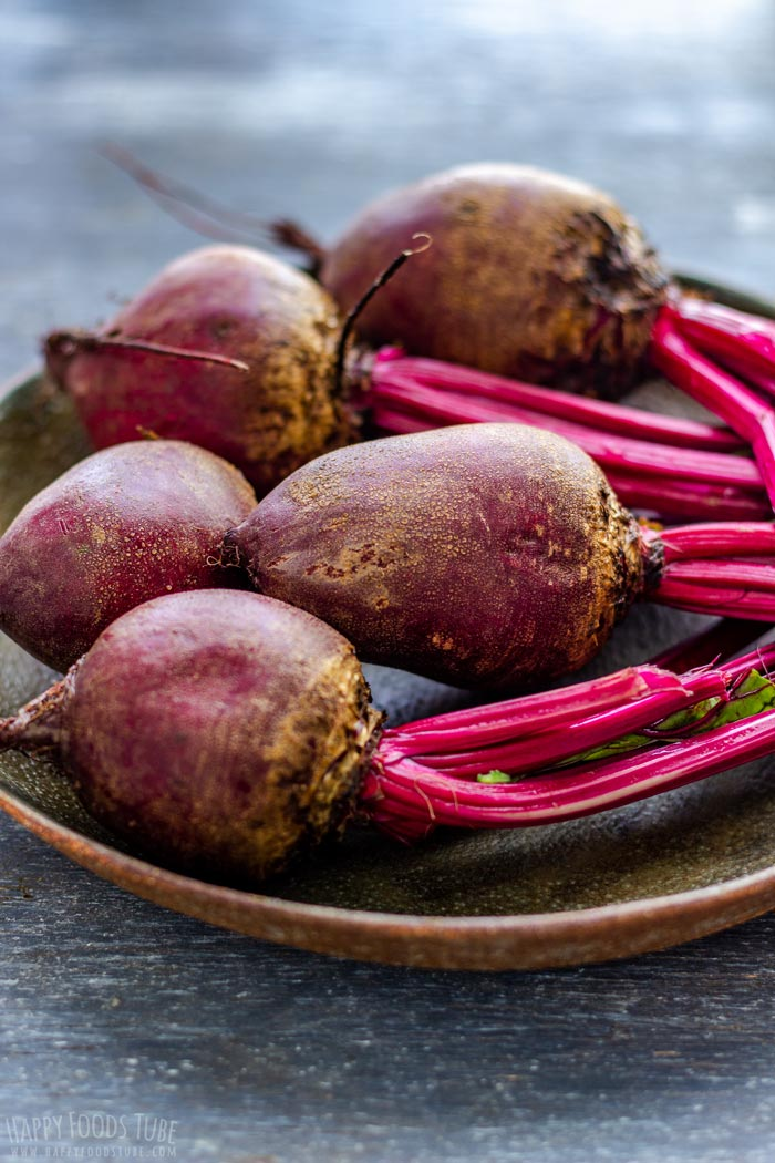 Fresh Raw Beets for Cooking