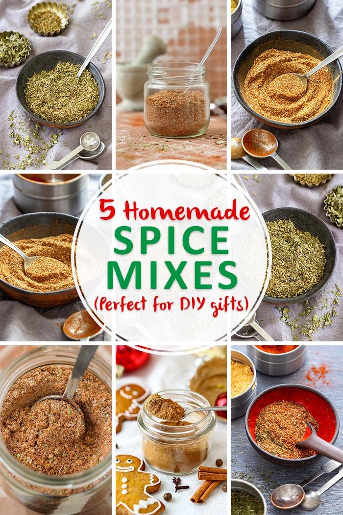 DIY Homemade Spice Mixes
