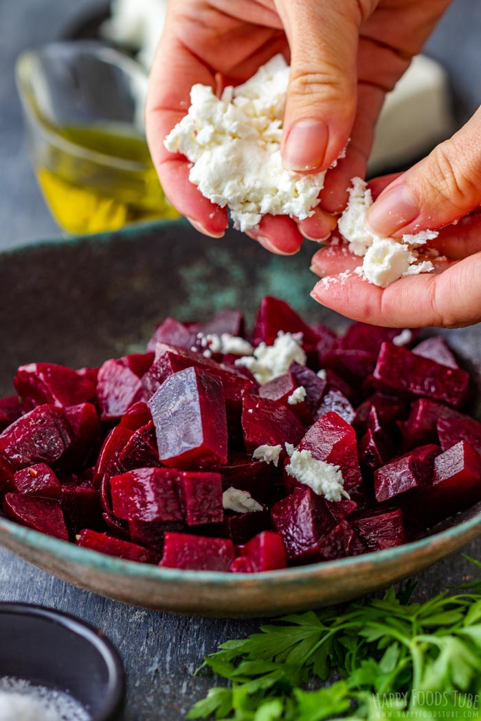 How to make Beet Salad with Feta Step 1