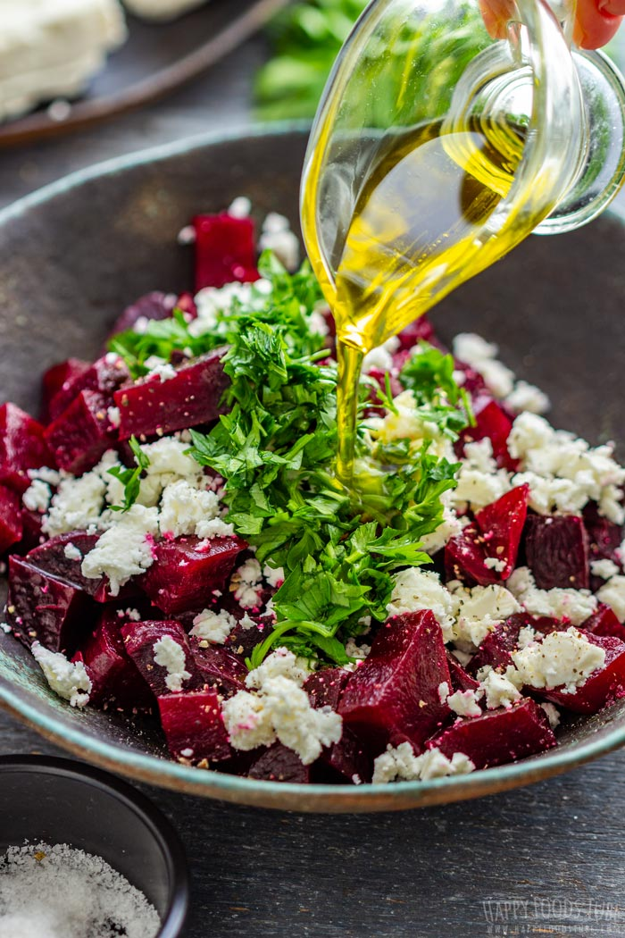 How to make Beet Salad with Feta Step 2