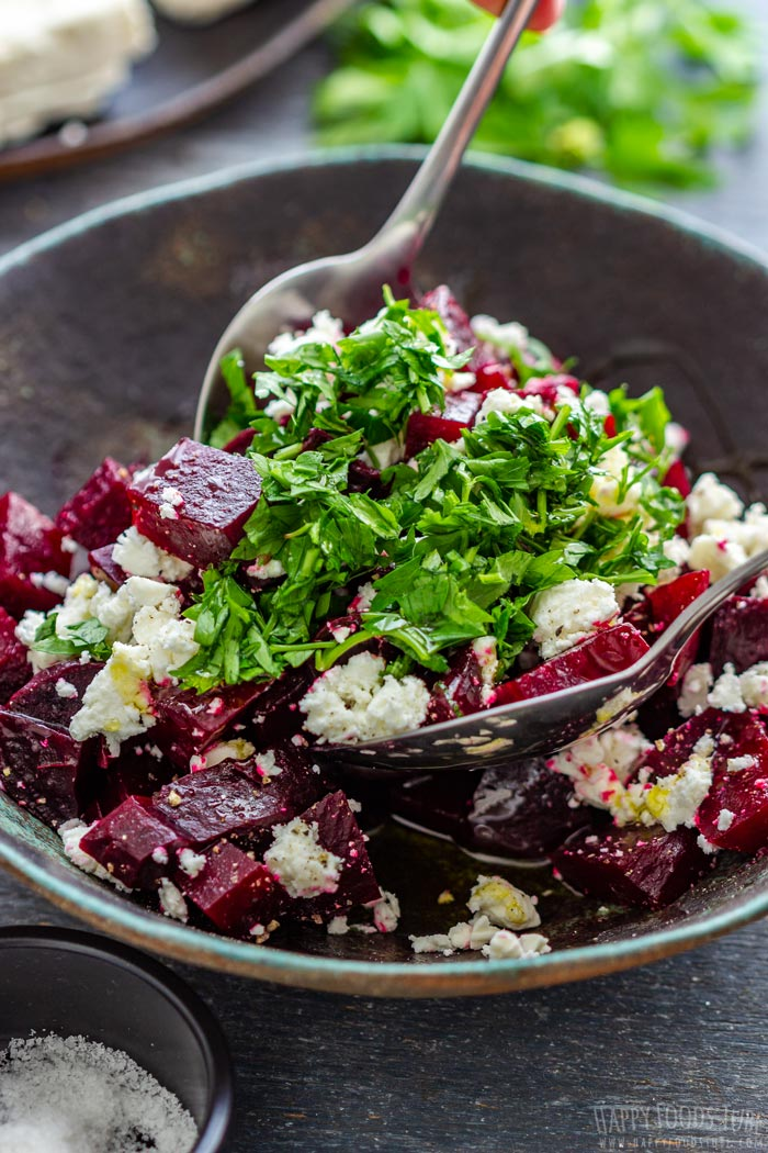 How to make Beet Salad with Feta Step 3