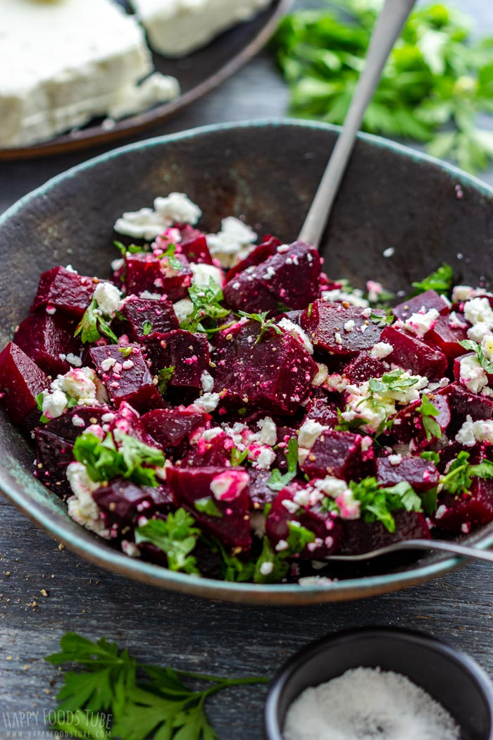 How to make Beet Salad with Feta Step 4