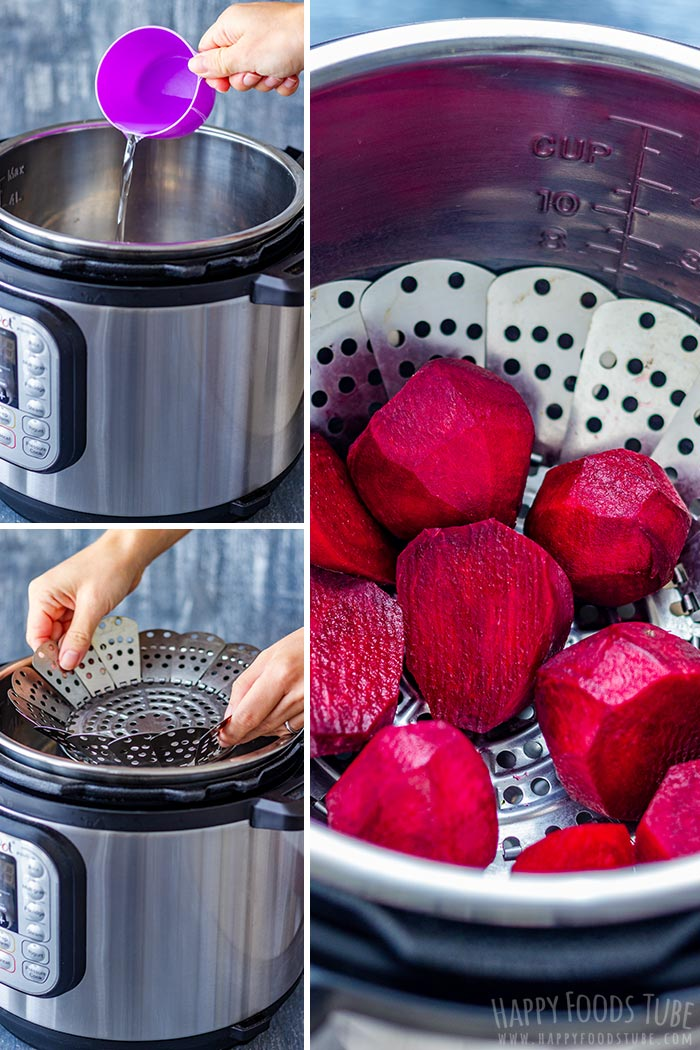 How to make Instant Pot Beet Picture Collage