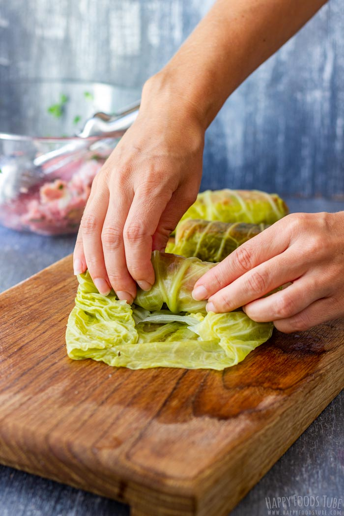 How to make Instant Pot Stuffed Cabbage Rolls Step 2