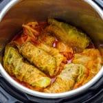 Homemade Instant Pot Stuffed Cabbage Rolls