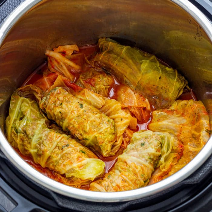 Homemade Instant Pot Stuffed Cabbage Rolls