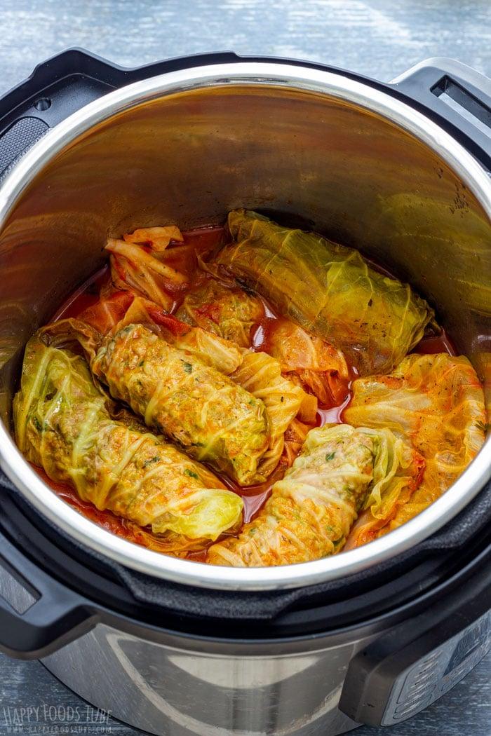 Instant Pot Stuffed Cabbage Rolls
