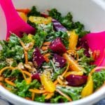 Homemade Kale and Beet Salad