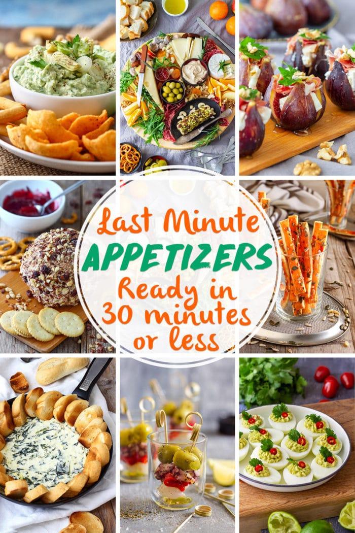 Last Minute Appetizers Ideas