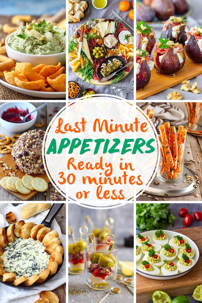 Last Minute Appetizers Roundup