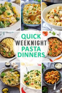 Quick Weeknight Pasta Dinners