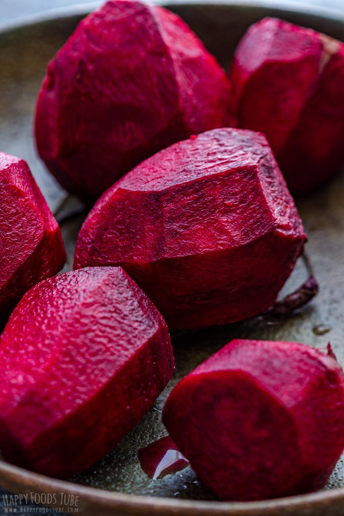 Raw Beets for Kale and Beet Salad
