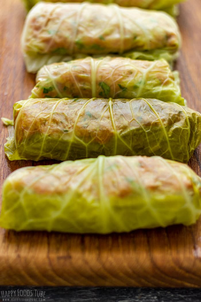 Uncooked Instant Pot Stuffed Cabbage Rolls