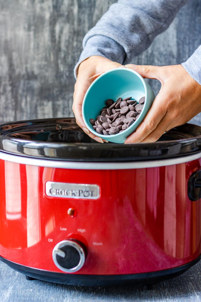 How to make Slow Cooker Hot Chocolate Step 2
