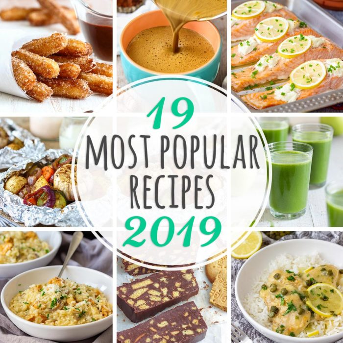 19 Most Popular Recipes of 2019