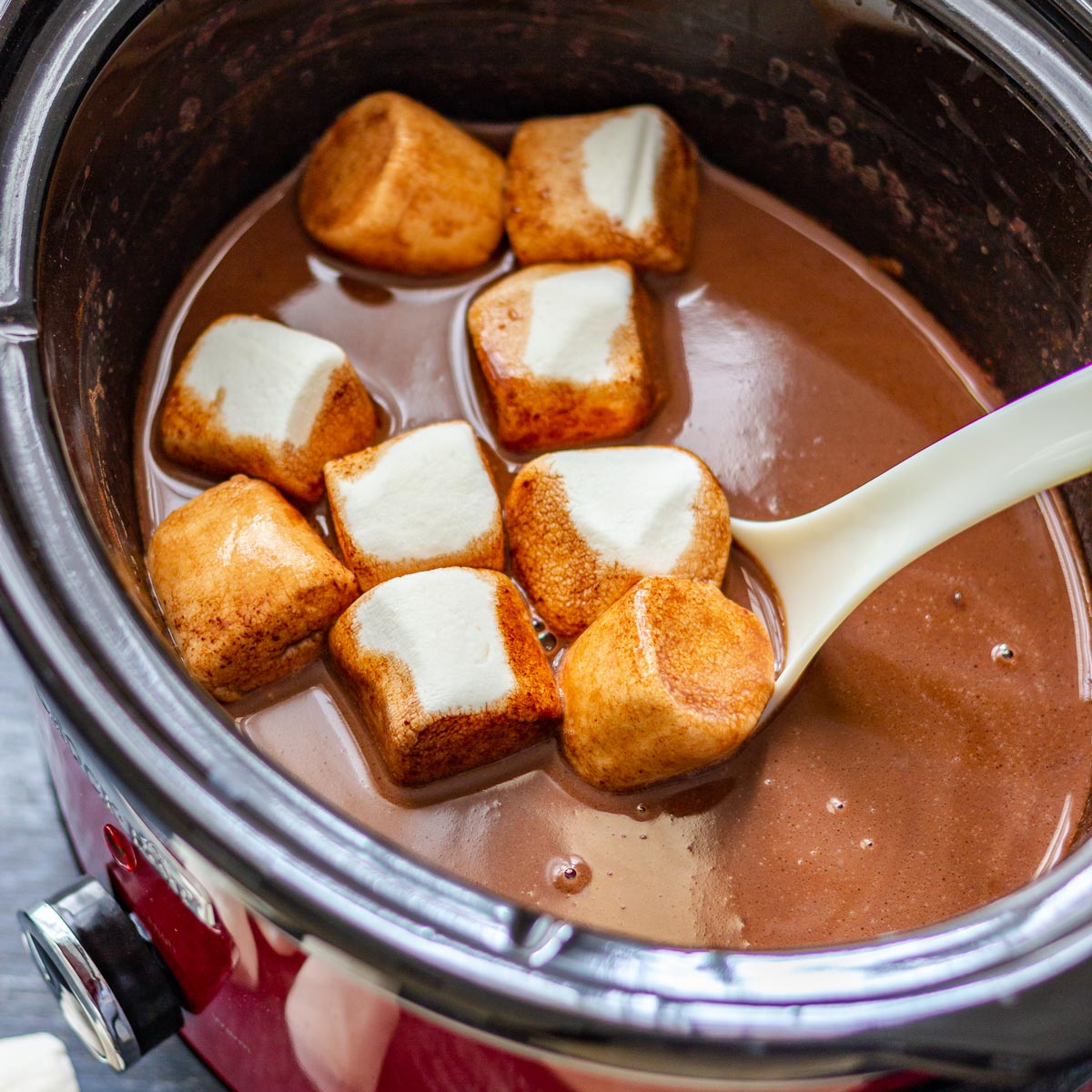3-Ingredient Slow Cooker Hot Chocolate
