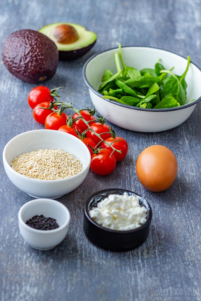 Savory Breakfast Bowl Ingredients