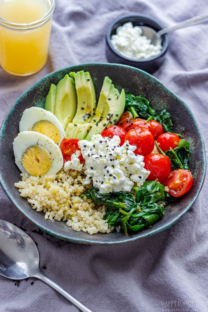 Healthy Savory Breakfast Bowl