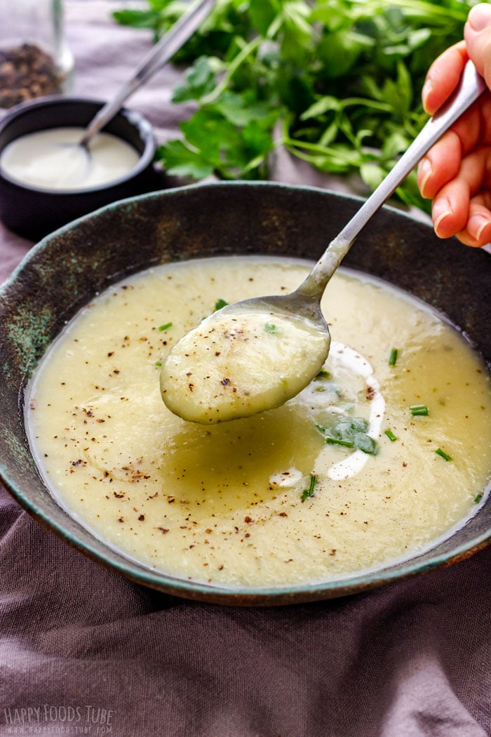 Homemade Potato Leek Soup