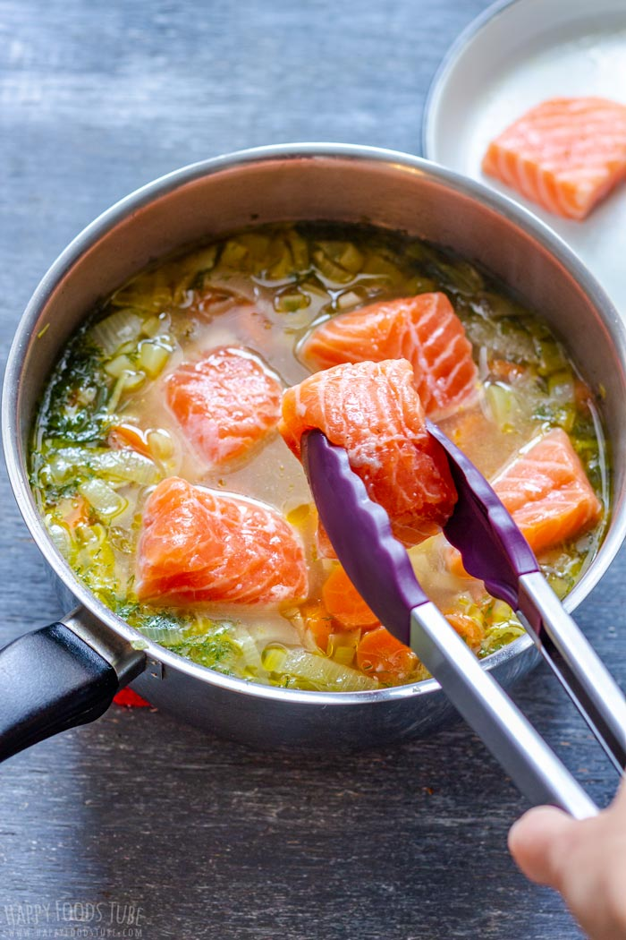 Adding Salmon to the Soup