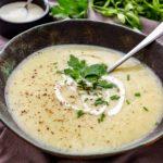 IP Potato Leek Soup