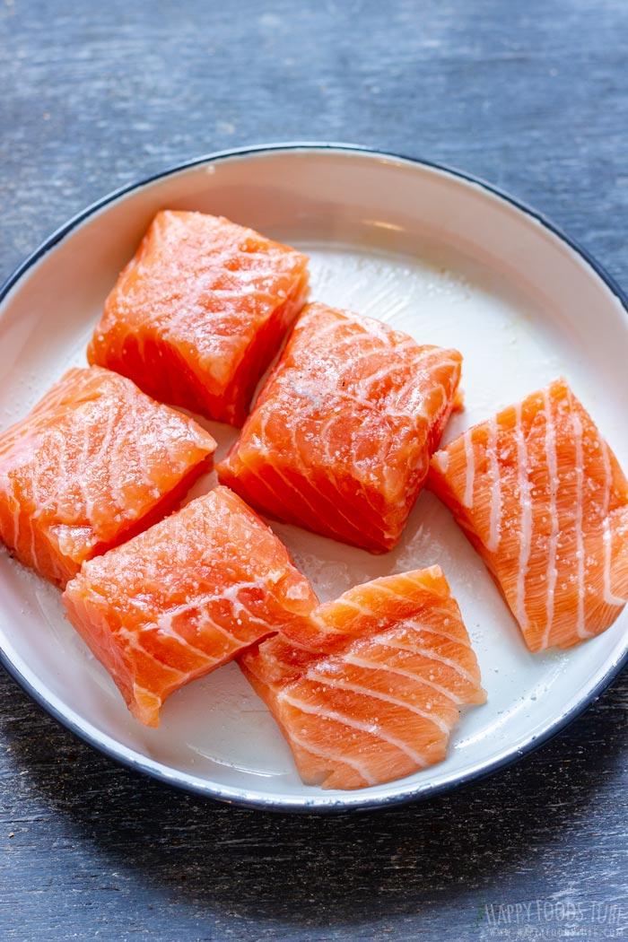 Salmon Chunks for Soup