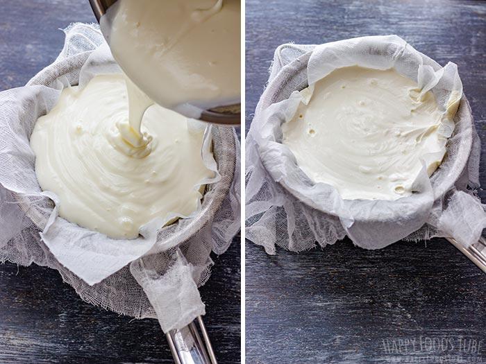 How to Strain Homemade Yogurt