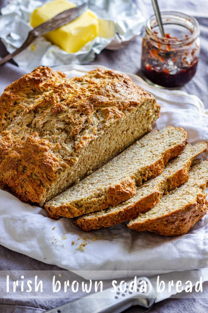 Irish Brown Soda Bread Pin