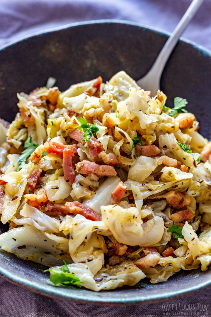 White Cabbage and Bacon