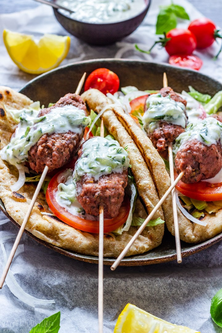 Famous Greek Beef Koftas