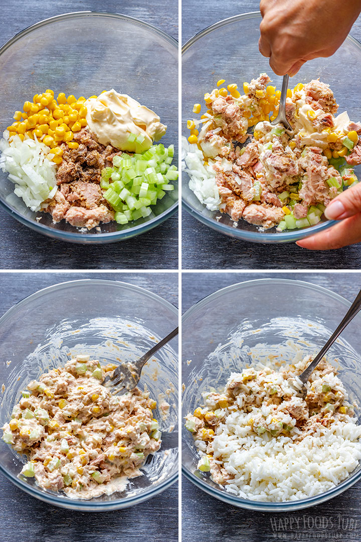 How to make Tuna Burrito Mix