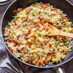 Easy Bacon Fried Rice Pin