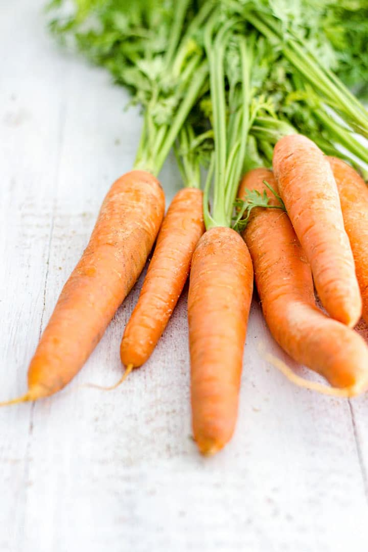 Fresh Carrots for Soup