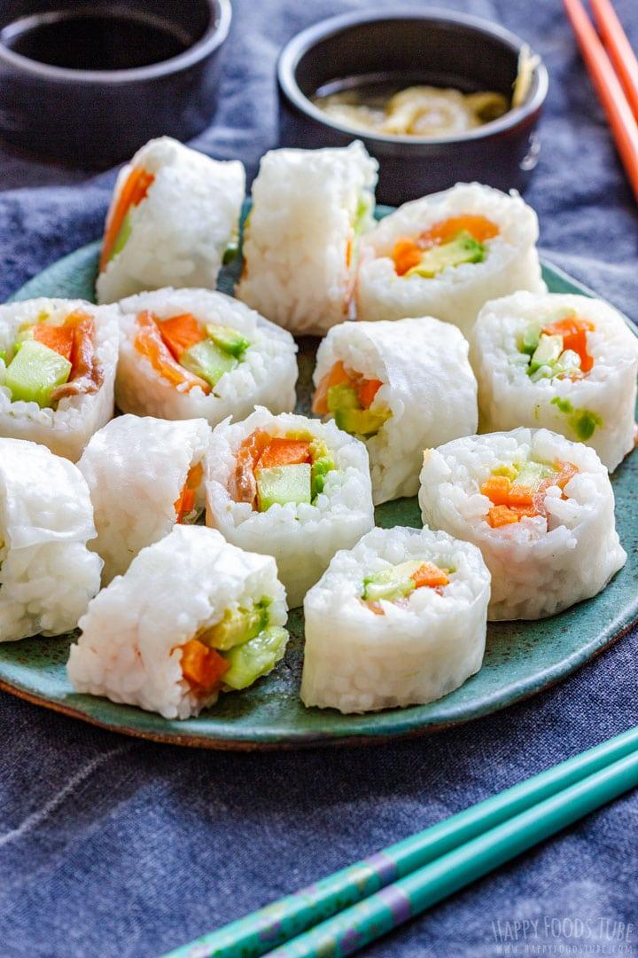 Homemade Fresh Sushi Rolls