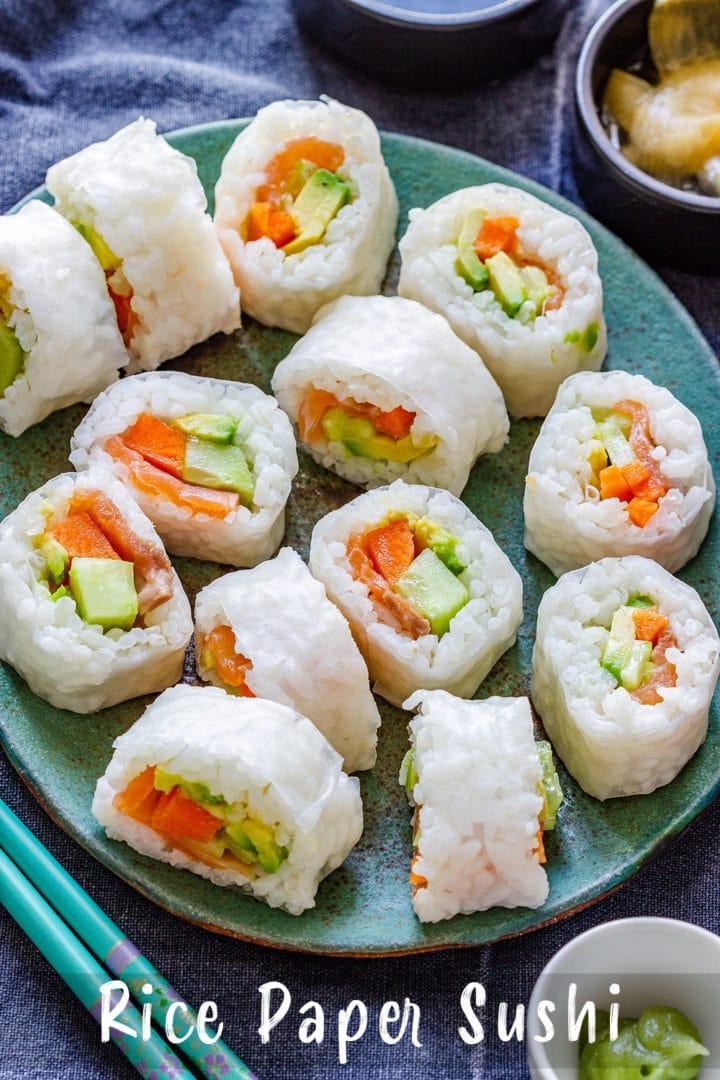 Rice Paper Sushi Pin