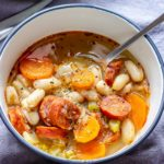 White Bean Soup with Chorizo