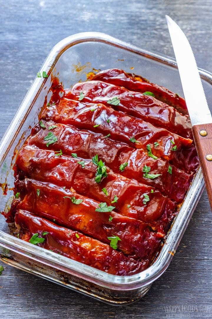 Baked BBQ Meatloaf
