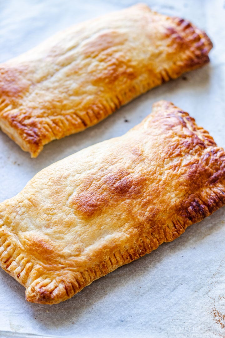 Baked Salmon Puff Pastry Pockets