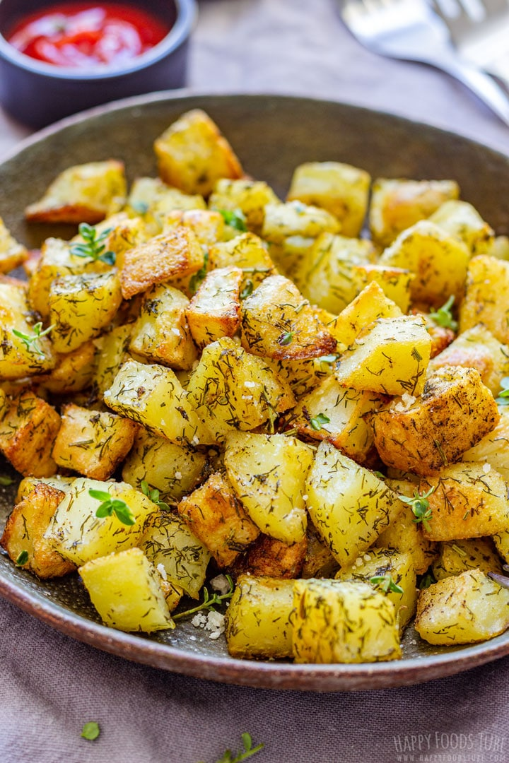 Golden Brown Parmentier Potatoes