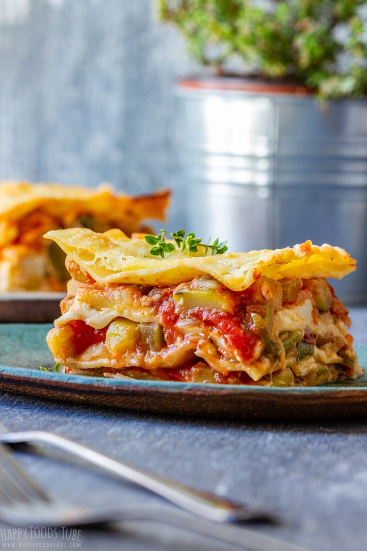 Homemade Vegetable Lasagna
