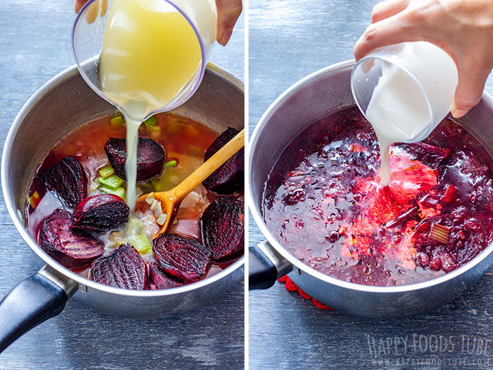 How to make Oven Roasted Beet Soup Step 2