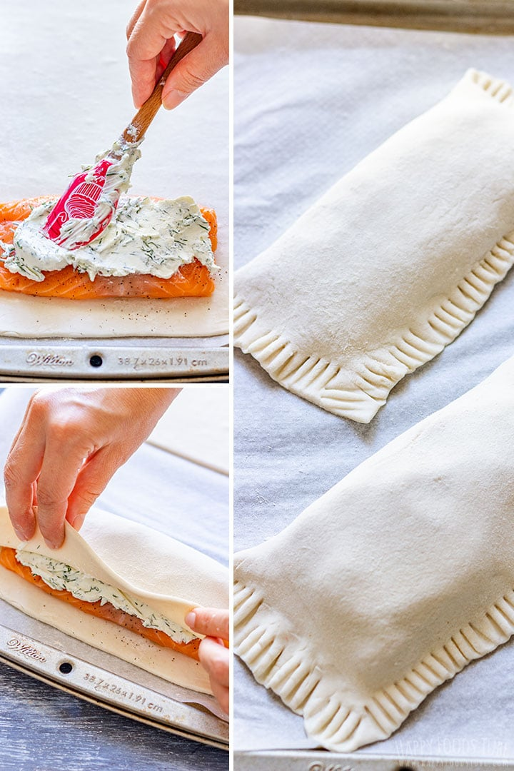How to Wrap Salmon in Puff Pastry