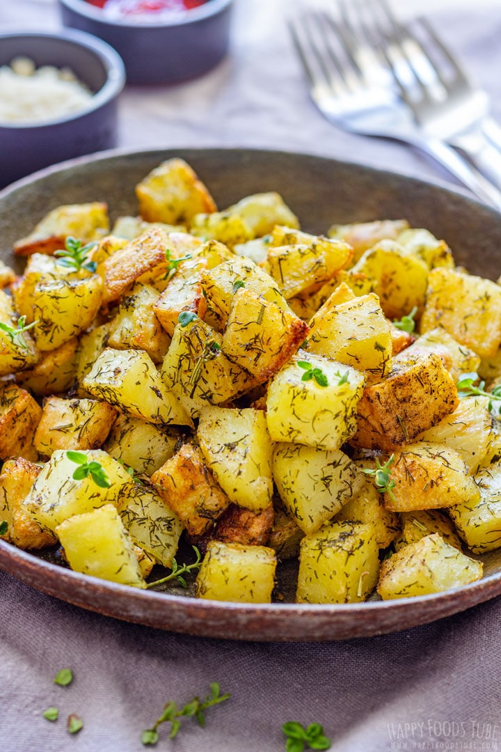 Parmentier Potatoes with Dill