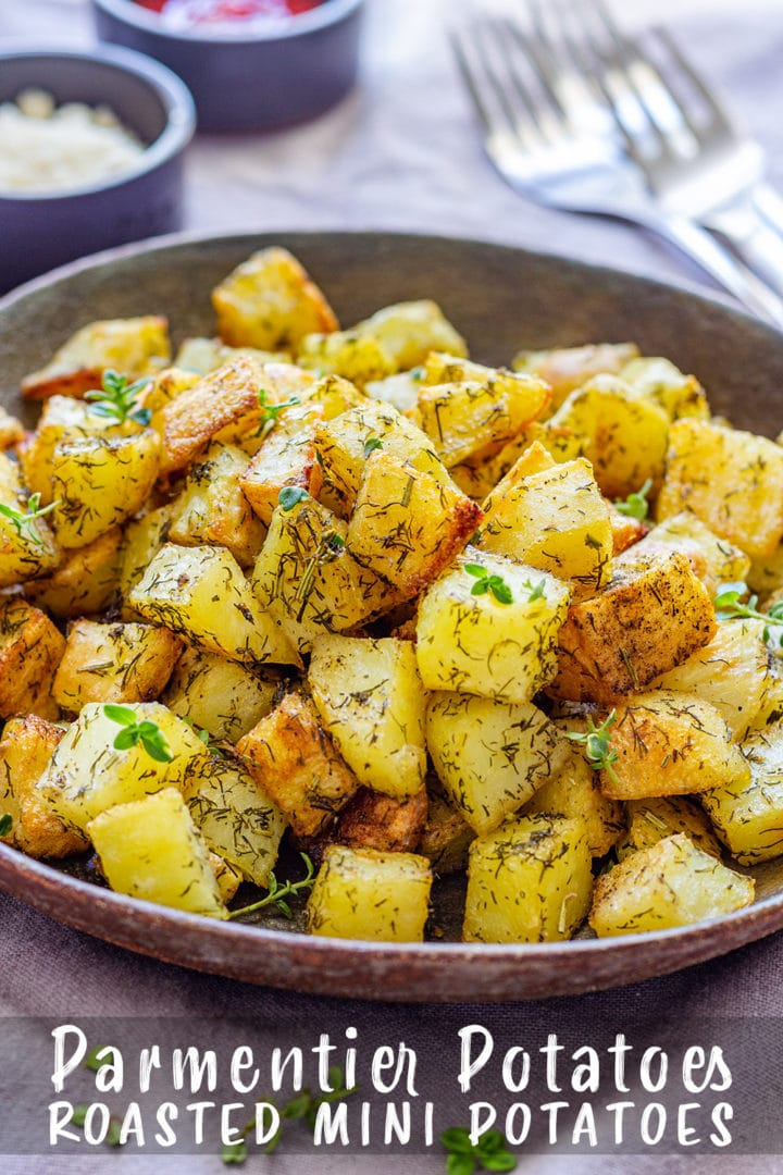 Parmentier Potatoes Pin