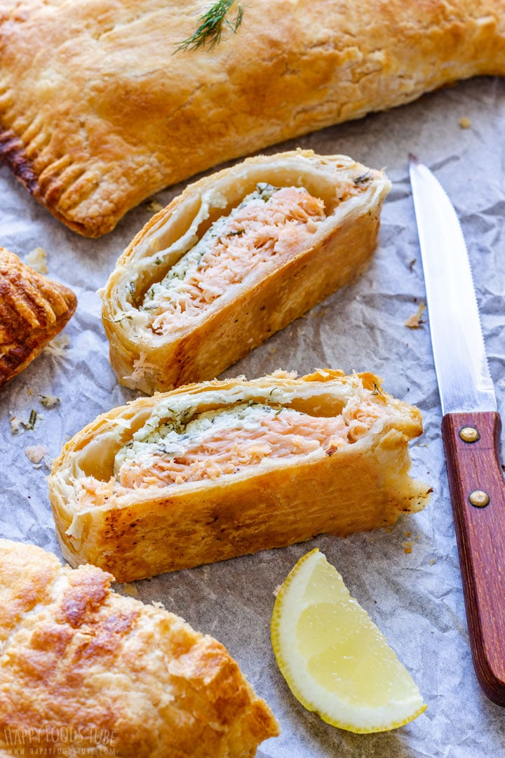 Salmon Wrapped in Puff Pastry