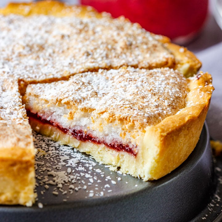 Strawberry Coconut Tart Recipe