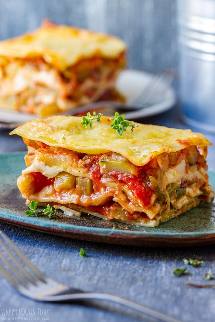 Vegetable Lasagna Slice