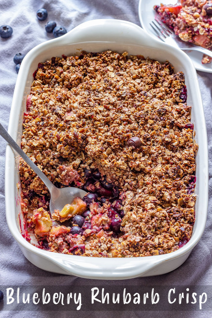 Blueberry Rhubarb Crisp Pin