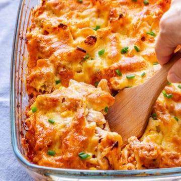 Chicken Pasta Casserole Picture