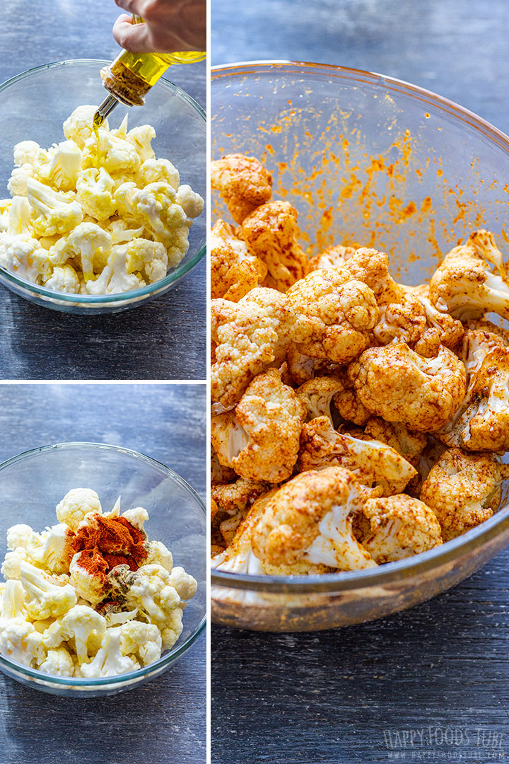How to make Oven Roasted Cauliflower